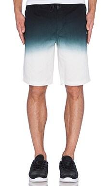 Staple Dip Dye Short in Black