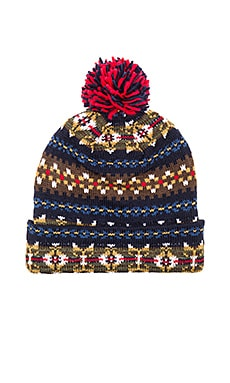 Staple Beacon Beanie in Navy