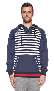 Staple Compass Hoodie in Navy