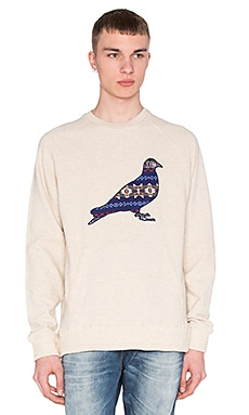 Staple Beacon Pigeon Crew in Cream