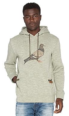 Staple Mosaic Pigeon Hoodie in Olive