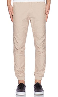 Staple Rally Oxford Jogger in Khaki