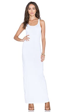 Stateside Royal Supima Maxi Dress in White