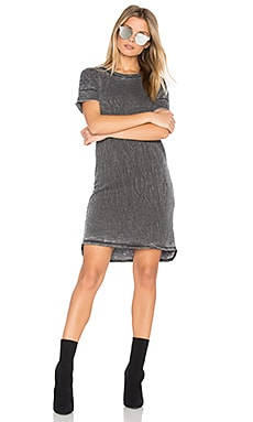 Burnout French Terry T Shirt Dress