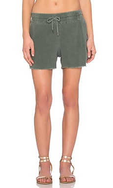 Bubble Gauze Short en Ivy