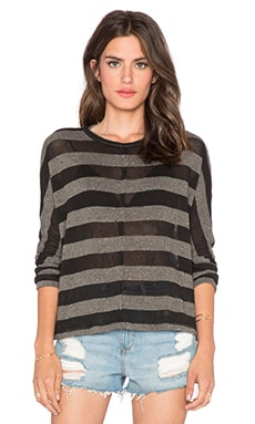 Stateside Stripe Sweater in Fern