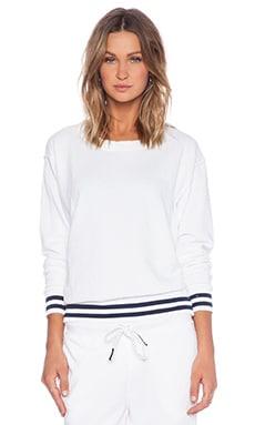 Stateside Crewneck Sweatshirt in White