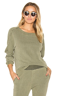 Crew Neck Sweatshirt in Fern
