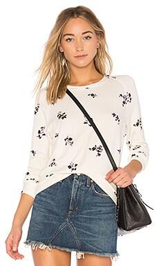 Wine Floral Sweathshirt