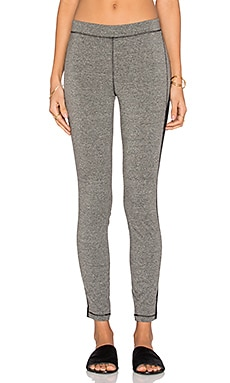 Stateside Spandex Legging in Heather Grey & Black