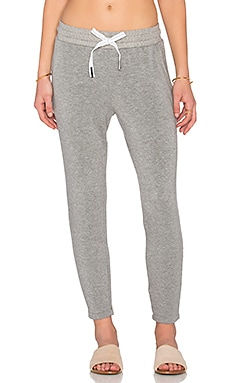 Stateside Fleece Sweatpant in Heather Grey