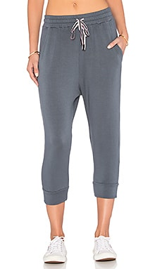 Stateside Viscose Fleece Sweatpant in Charcoal