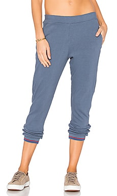 Jersey Sweatpants en Vintage Blue