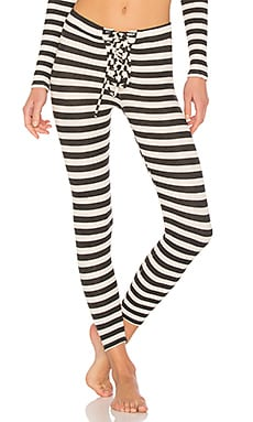 Striped Thermal Legging