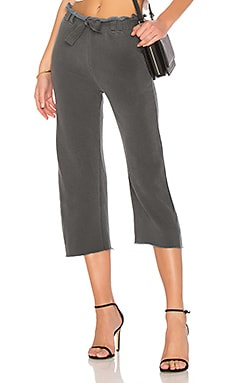 French Terry Wide Leg Pant Stateside $53