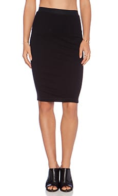 Stateside Pencil Skirt in Black