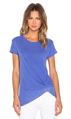 Stateside Gathered Tee in Periwinkle