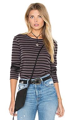 Slub Black Stripe Long Sleeve