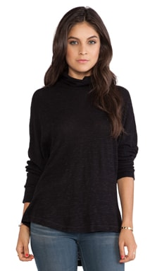 Stateside Dolman Long Sleeve Tee in Black