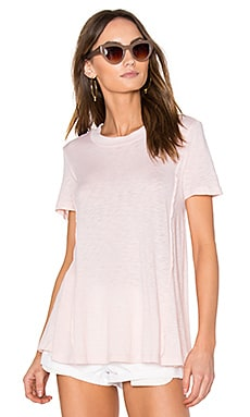 Slub Jersey Tee in Peach