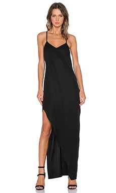 State of Being Anthracite Maxi Dress in Black