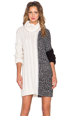 State of Being Illuminate Sweater Dress in Multi