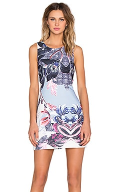 State of Being Thistle Down Dress in Multi