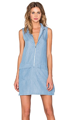 State of Being Chambray Shirt Dress in Chambray