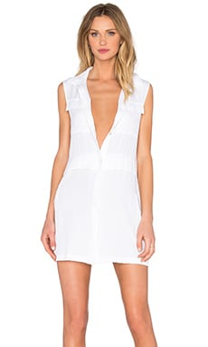 Fantasia Shirt Dress in White