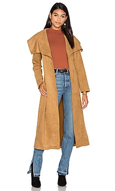 State of Being Isabel Coat in Camel