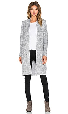 State of Being Alluring Coat in Grey Marle