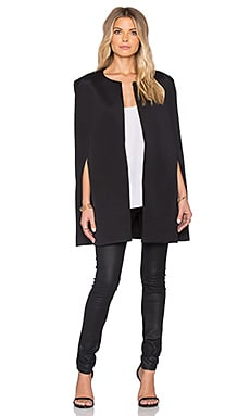 State of Being Amphora Cape in Black