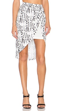 State of Being Ink Spot Skirt in Multi