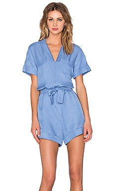 State of Being Gypsy Romper in Blue Bell