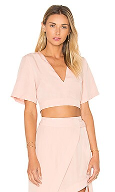 State of Being Layer Up Crop Top in Blush