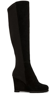 Steven Whispper Boot in Black