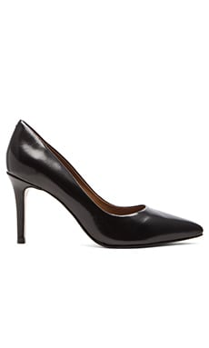 Steven Sheila Heel in Black Polish