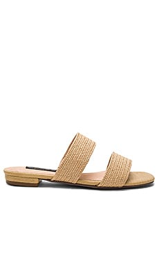 Friendsy Sandal in Natural Raffia