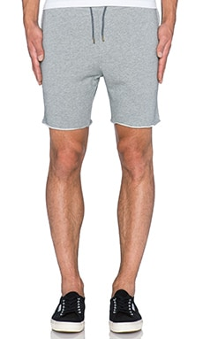 Scotch & Soda Sweat Short in Grey Melange