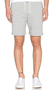 Scotch & Soda Home Alone Sweat Short in Grey Melange