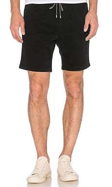 Scotch & Soda Chino Short with Elastic Waistband in Antra
