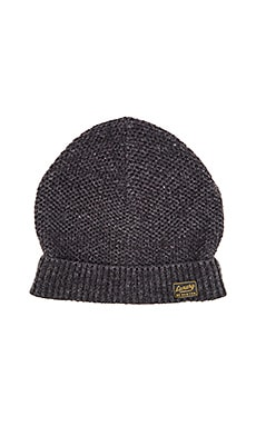 Scotch & Soda Beanie in Neps Melange Quality in Antra