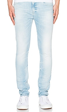 Scotch & Soda Sundrench Stretch Denim in Denim Blue