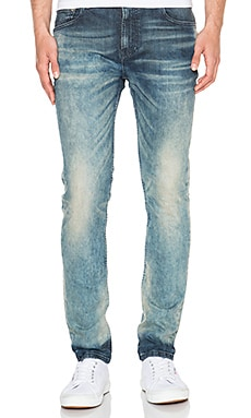 Scotch & Soda Skim Odds and Ends in Denim Blue