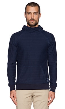 Scotch & Soda Sweat in 2 Hoody in Midnight