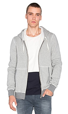 Scotch & Soda Home Alone Zip Through in Grey Melange
