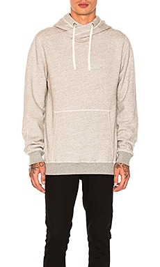 Home Alone Twisted Hoodie in Grey Malange