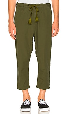 Loose 3/4 Length Pants