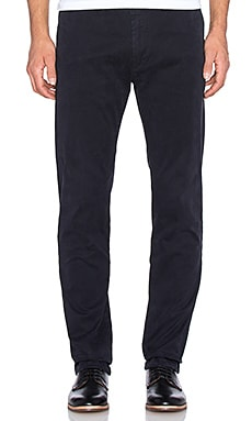 Scotch & Soda Slim Fit Cotton Garment Dyed Chino Pant in Night