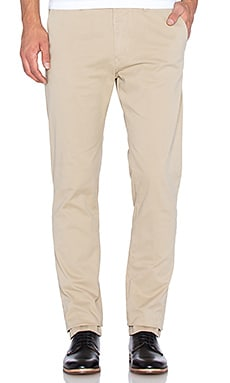Scotch & Soda Slim Fit Cotton Garment Dyed Chino Pant Sand